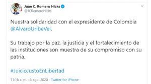JUAN CARLOS ROMERO HICKSJ