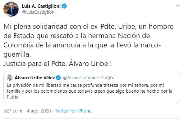 LUIS A CASTIGLIONI