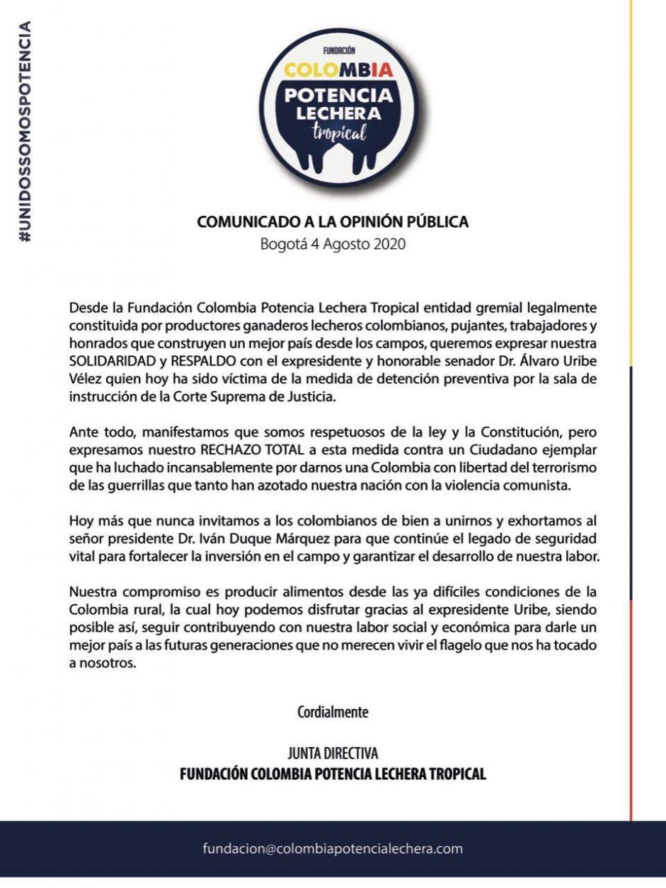 FUNDACIÓN COLOMBIA POTENCIA LECHERA TROPICAL