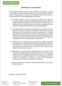 19 APOYOS GREMIOS - ASOCOLFLORES