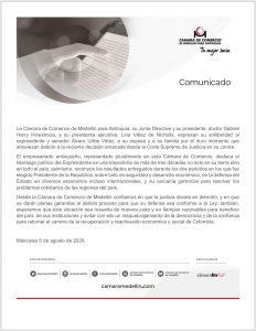 21 APOYOS GREMIOS - CÁMARA DE COMERCIO DE MEDELLÍN