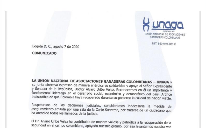 UNIÓN NACIONAL DE ASOCIACIONES GANADERAS COLOMBIANAS