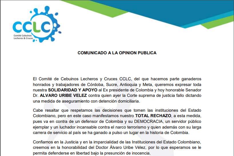 COMITÉ DE CEBUINOS LECHEROS Y CRUCES