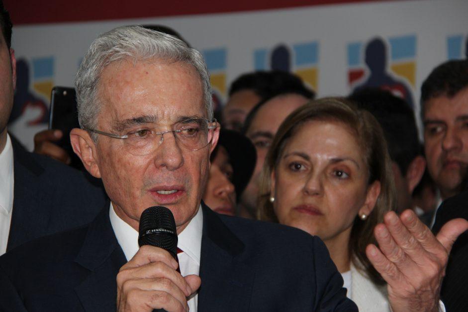 Indagatoria Álvaro Uribe Vélez