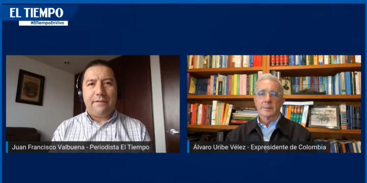En vivo con El Tiempo, 10 noviembre, 2020 sobre el primer borrador de referendo