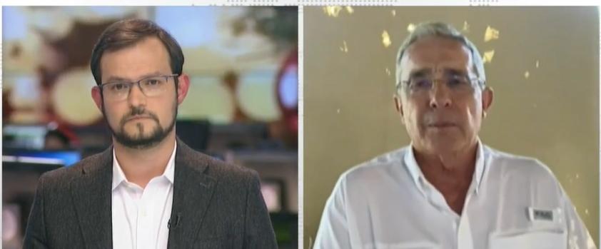 Entrevista Álvaro Uribe Vélez en RCN TV y La Noche de NTN24, 20 dic 2020