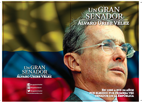 Álvaro Uribe Vélez, un gran senador