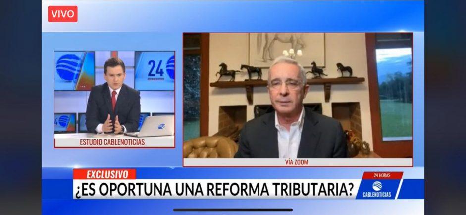 Entrevista Cablenoticias 07/01/21 «Retos 2021 por Colombia»