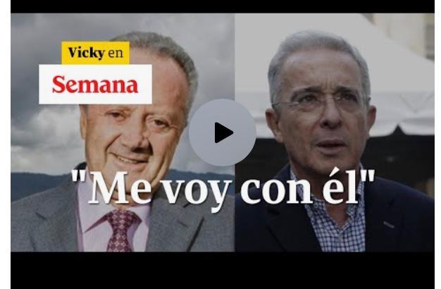 «A mí que me entierren con Uribe» Arturo Calle