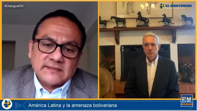 Entrevista El Montonero, Perú 11/01/2021 «América Latina y la amenaza bolivariana»