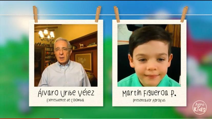 Álvaro Uribe Vélez habla sobre caballos – AgroKids