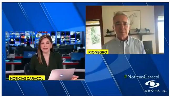 Entrevista con Noticias Caracol sobre preocupaciones por EPM.