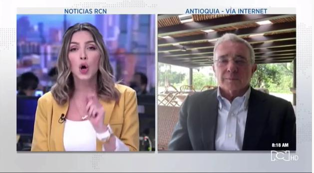 Entrevista Noticias RCN, 19 febrero 2020. Falsos positivos, JEP, panorama electoral