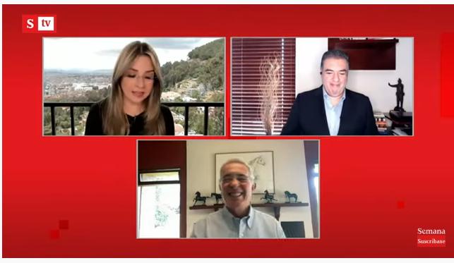 Álvaro Uribe enciende debate sobre intervención de EPM, Revista Semana