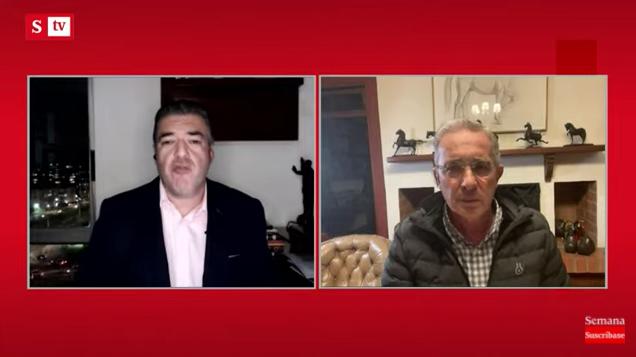 Álvaro Uribe responde a informe de la JEP sobre falsos positivos, Revista Semana 19 febrero 2021