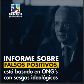 Entrevista Álvaro Uribe Vélez en Caracol Radio sobre informe sesgado de la JEP de falsos positivos