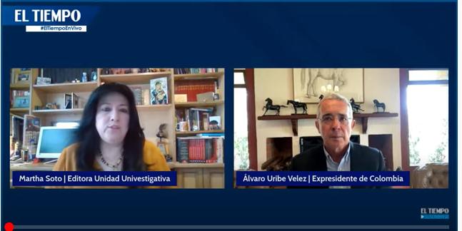 Entrevista El Tiempo, Martha Soto previa decisión Fiscalía. 4 marzo 2021