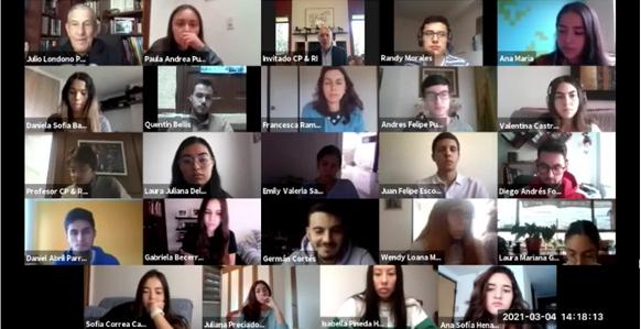 Clase Universidad El Rosario, política exterior 4 marzo