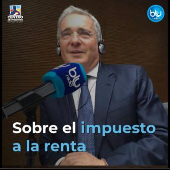 Entrevista sobre reforma tributaria en Blu Radio, 8 abril 2021