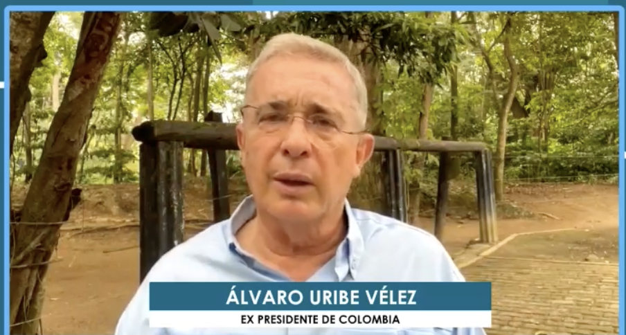 Entrevista al presidente Álvaro Uribe en #AquiEstamosTV 15/07/2021