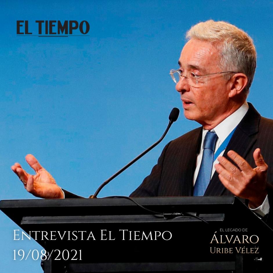 Entrevista El Tiempo 19/08/2021