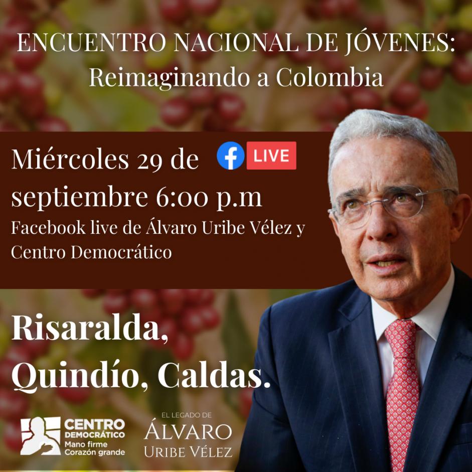Encuentro Nacional de Jóvenes: Reimaginando a Colombia Risaralda, Quindio, Caldas.