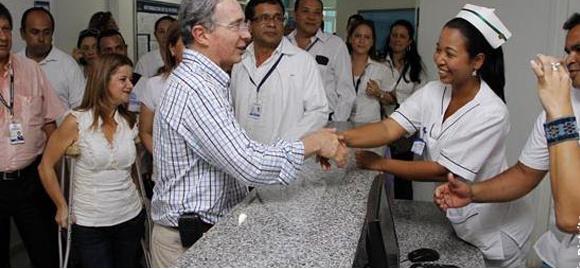 Uribe destacó nuevo aire que se respira en Barranquilla