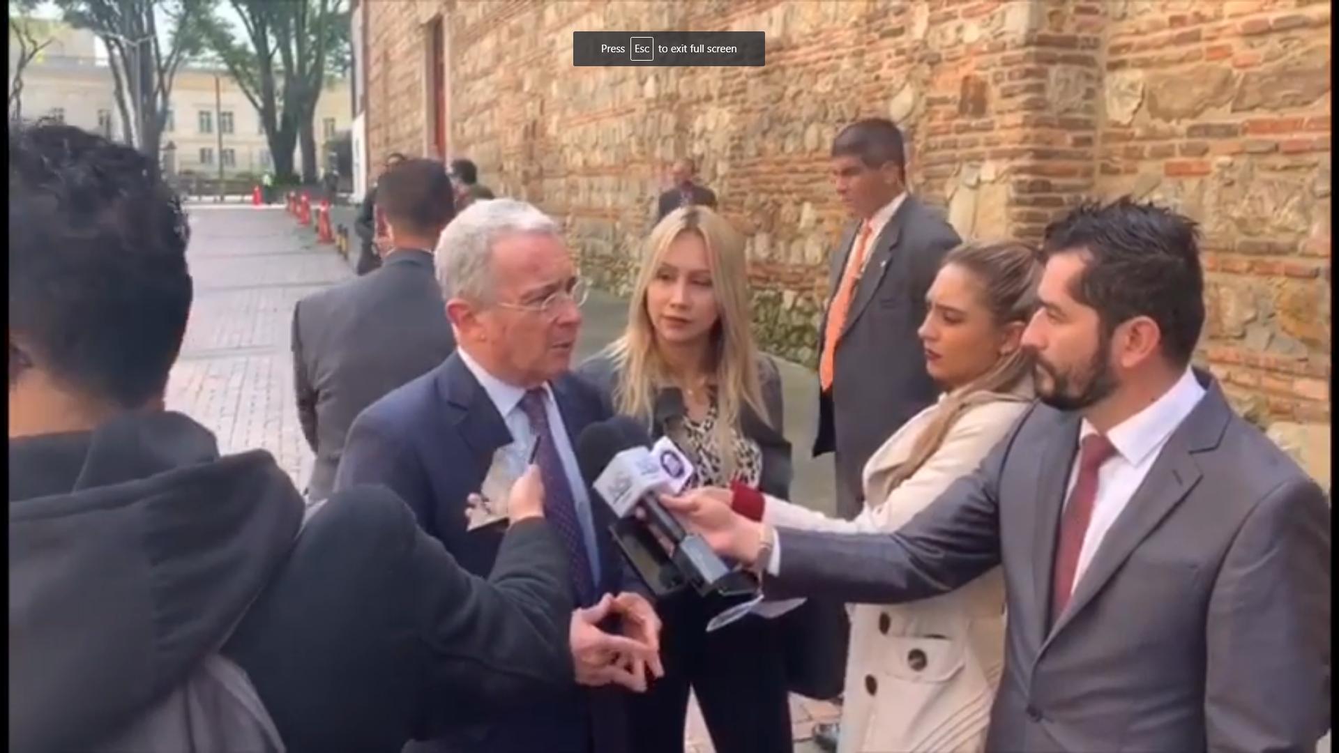 """""""El Presidente Duque tiene todo el compromiso con los cafeteros"""": Uribe"""