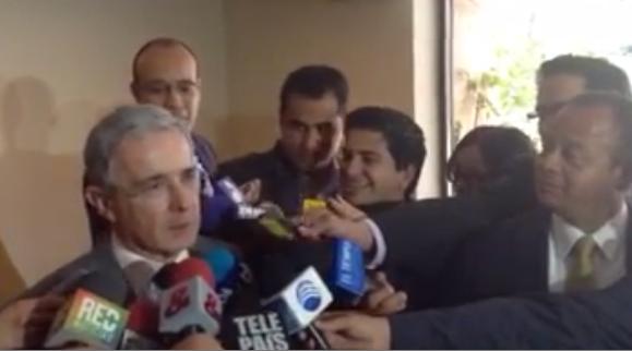 VIDEO «Es rechazable que se negocie institucionalidad democrática con Farc»