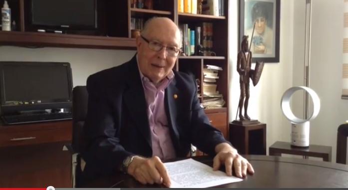 VIDEO Mensaje a los convencionistas, Dr Jaime Jaramillo Panesso