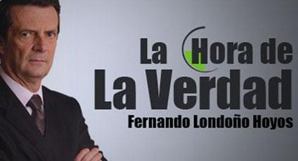 AUDIO El Expresidente Uribe en La Hora de la Verdad con Fernando Londoño