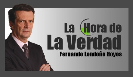 «Es grave que hoy la Patria se doblegue ante el terrorismo y el narcotráfico» Uribe en La Hora de la Verdad
