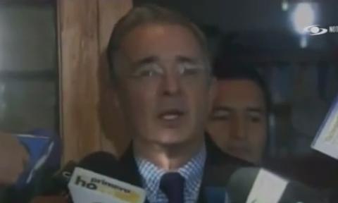 VIDEO Uribe encabezará listas del Centro Democrático