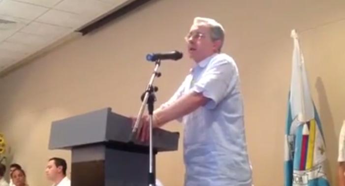 VIDEO «Si no se desacata fallo de La Haya, San Andrés se independizará» Uribe