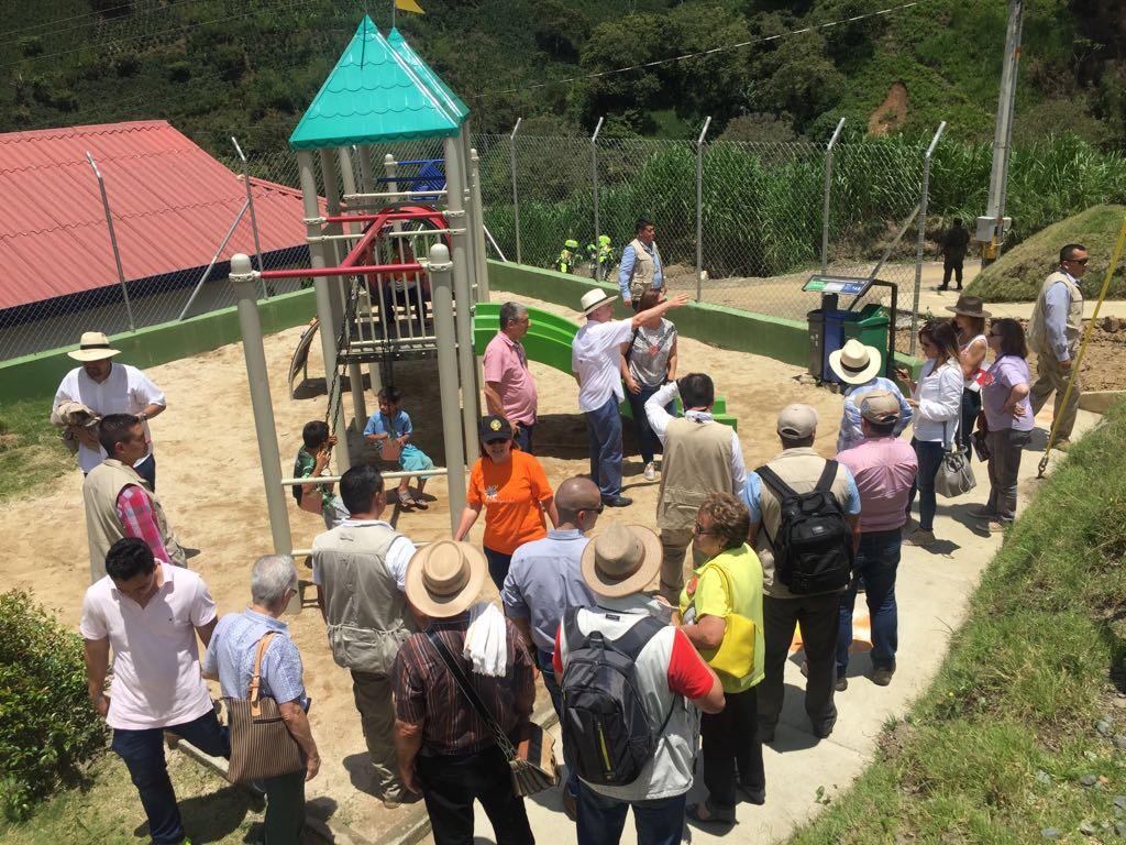Expresidente Uribe en Evento de gratitud en Salgar, Antioqui